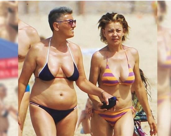 Imma Battaglia et Eva Grimaldi.jpg